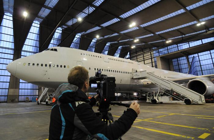 Boeing 747-8 Intercontinental Lufthansa Frankfurt