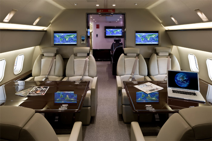 Boeing Business Jet Deer Jet Cabin China