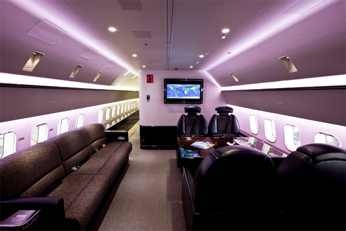 Boeing Business Jet China Deer Jet Cabin