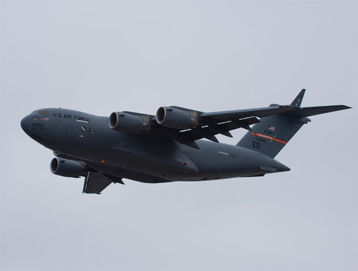 Boeing C-17 T-1 Test Airplane in 2011