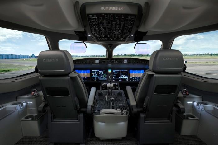 Bombardier CSeries Cockpit