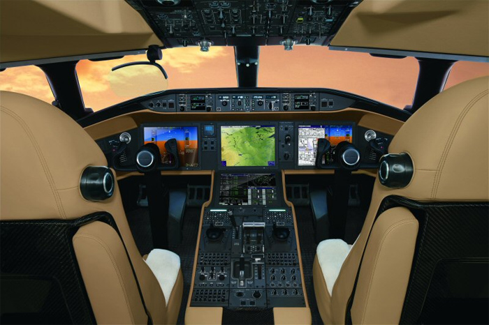 Bombardier Vision Flight Deck