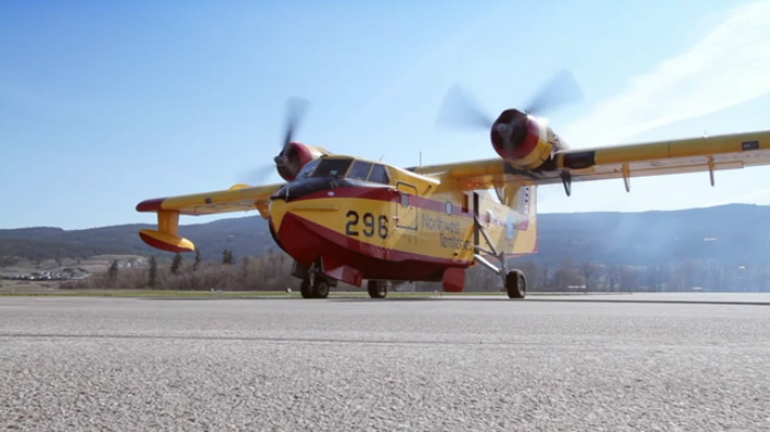 Buffalo Airways Canadair CL-215 Firebomber