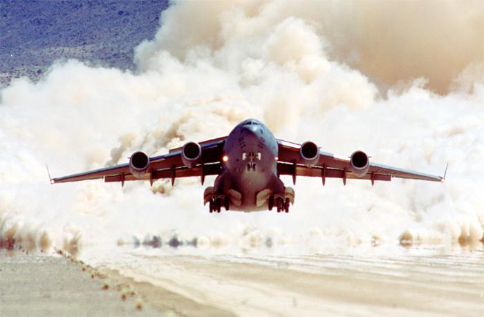 Boeing C-17 Globemaster III Desert Takeoff