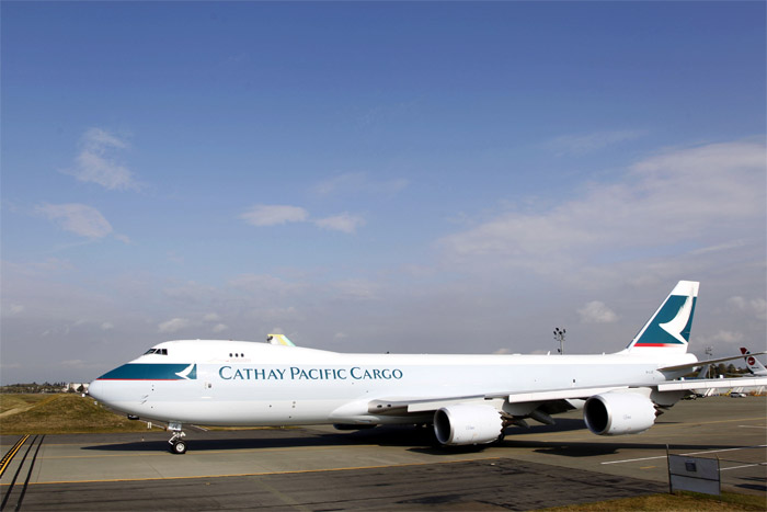 Cathay Pacific Boeing 747-8F
