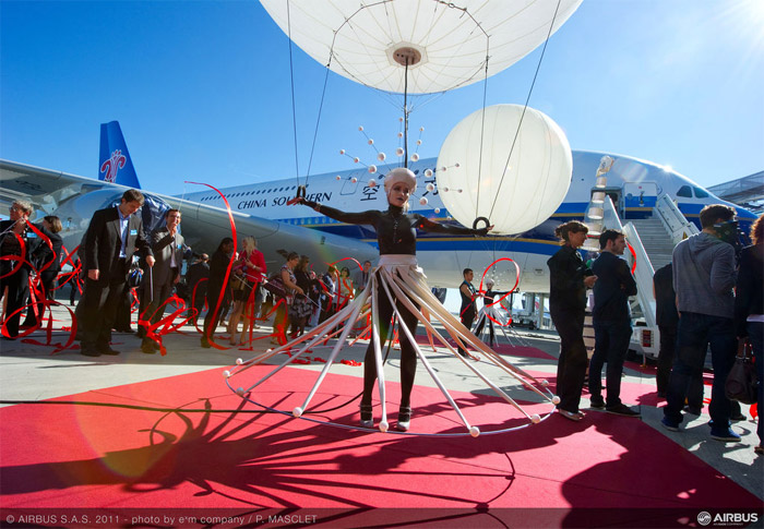 China Southern Airbus A380 Delivery Ceremony