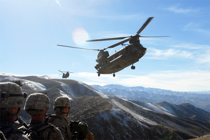 Boeing CH-47 Chinook in Afghanistan