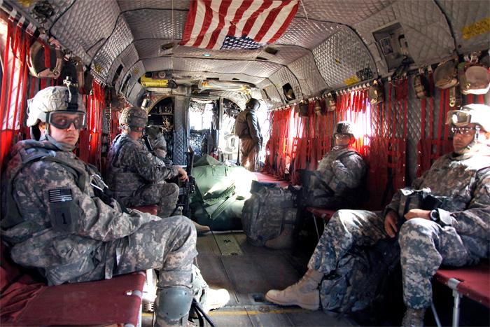 Boeing CH-47 Chinook Interior