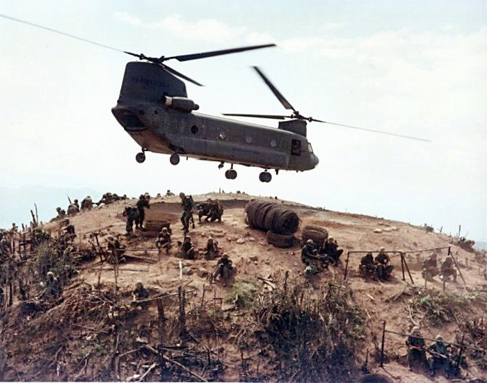 Boeing CH-47 Chinook in Vietnam War