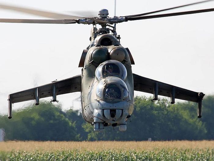 CWAM Mil MI-24 Hind