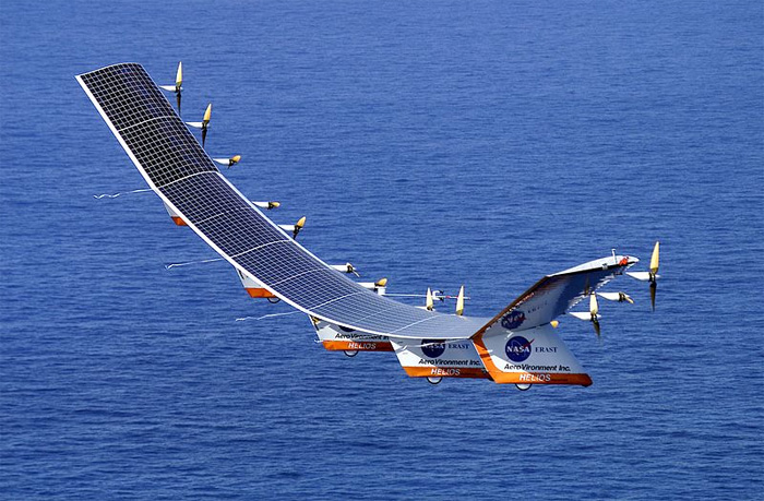 Electrical Solar Powered Aircraft