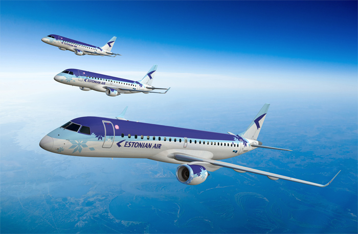 Estonian Air All-Embraer Fleet