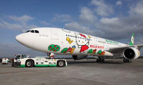 Hello Kitty Airbus A330