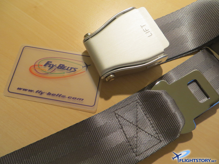 Fly-Belts Fashionable Airplane Seatbelts