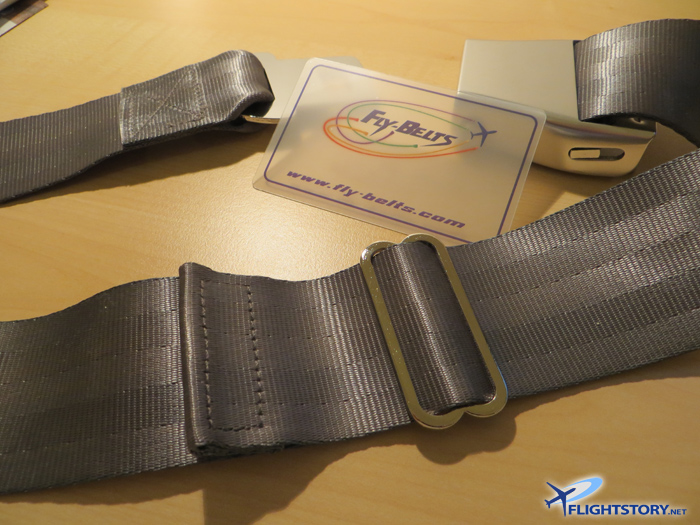 Fly-Belts Wearable Aircraft Seat Belts
