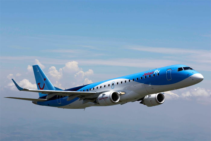 Jetairfly Embraer E190