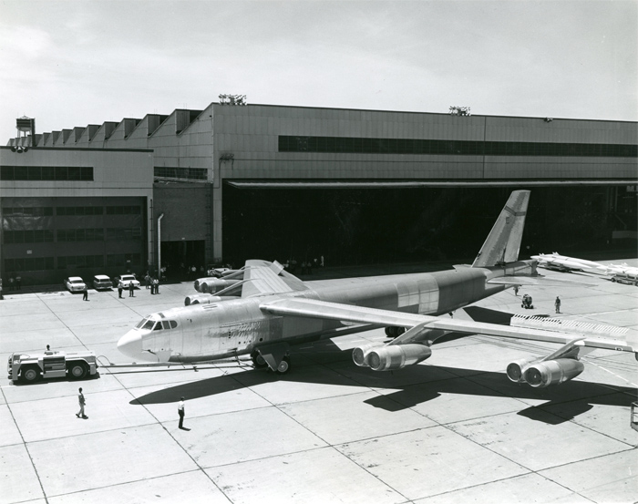 Last B-52 Stratofortress Built - 1962