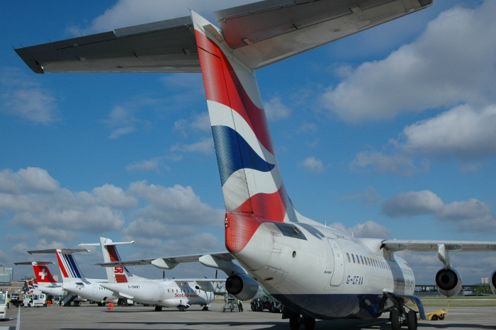 London City Airport Apron