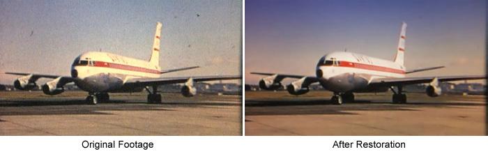 Qantas Documentary Image Restoration