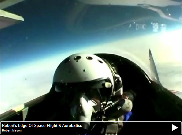 Robert Mason Video Trip Into Space