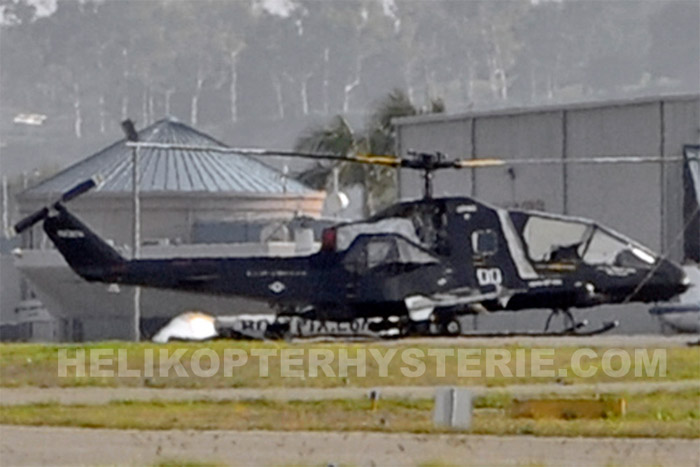 Secret US Stealth Helicopter