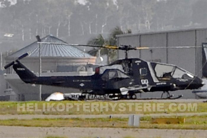 Secret US Stealth Helicopter
