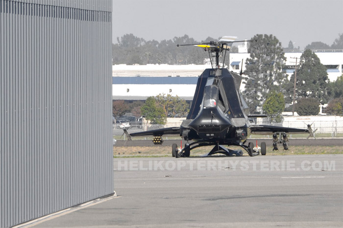 Secret US Stealth Attack Helicopter