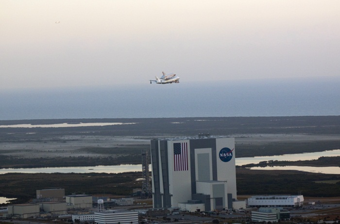 Space Shuttle Discovery Last Flight