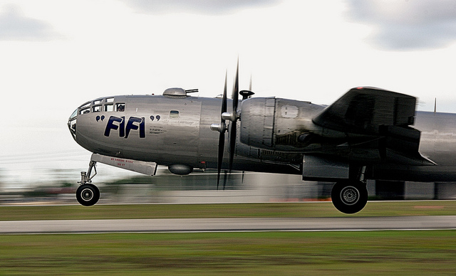 World's only flying Boeing B-29 Super Fortress FIFI