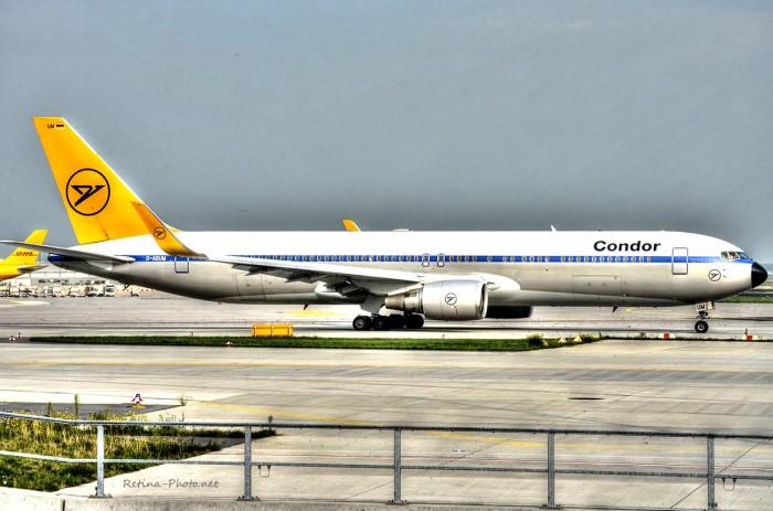 HDR Condor Retro Jet
