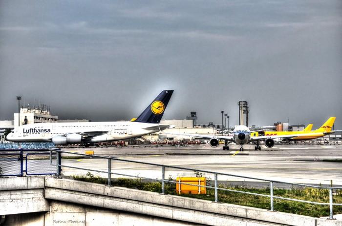 HDR Lufthansa Airbus A380
